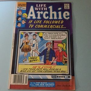 Vintage Life with Archie comic, as shown in pics